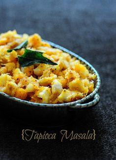 Kerala Kappa Masala-Tapioca Masala Recipe by Nags The Cook, via Flickr