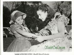 """""""Gone With the Wind""""   In the movie, Bonnie Blue Butler/Cammie King Conlon, may have been (Scarlett) her mommy's daughter but she was (Rhett Butler) her daddy's little girl"""
