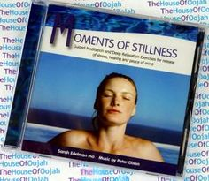 Audio CD Moments of Stillness by Dr Sarah Edelman Psychologist PhD Books On Tape, Dr Sarah, Relaxation Exercises, Guided Meditation, Online Shopping Stores, Peace Of Mind, Audiobooks, Stress, Healing