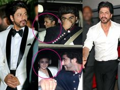Shah Rukh Khan proves hes a TRUE gentleman LENDS his coat to Alia Bhatt  view pics!