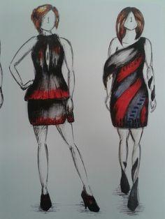 Fashion illustrations edited 3 and 4
