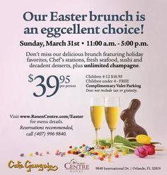 Easter Brunch Orlando, FL #Kids #Events
