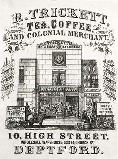 Victorian Shop Poster