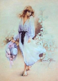 This counted cross stitch pattern of Sommerwind was created from the beautiful artwork of Sara Moon. Deviant Art, Sarah Moon, Decoupage, Creation Photo, Moon Pictures, Moon Art, Up Girl, Various Artists, Animation