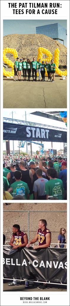 The Pat Tilman Run: Tees for a Cause  http://blog.bellacanvas.com/pat-tilman-run/