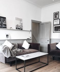 minimalist flat tour minimal flat minimalist apartment tour minimal apartment grey and white aesthetic neutral flat apartment Minimalist Living Room Furniture, Minimalist Home Decor, Living Room Decor, Living Spaces, Bedroom Decor, Bedroom Apartment, Apartment Ideas, Modern Moroccan Decor, Modern Decor