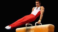 Senior Portrait / Photo / Picture Idea - Guys / Boys - Gymnastics / Gymnast - Pommel Horse