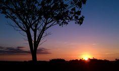 Stunning sunset near the Waikoloa Coast of the Big Island of Hawaii