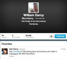 HAHA!!!!! He favourited her tweet!!! <3