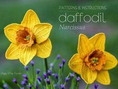 Crochet Daffodil Pattern