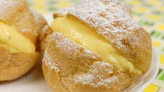 Choux Creme (Cream Puffs) Recipe シュークリーム 作り方レシピ