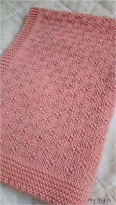 Free Knitting Pattern for 8 Row Repeat Hourglass Eyelet Baby Blanket - Baby blan. Free Knitting Pattern for 8 Row Repeat Hourglass Eyelet Baby Blanket – Baby blanket with an 8 row Baby Knitting Patterns, Free Baby Blanket Patterns, Knitting Stitches, Baby Patterns, Free Knitting, Simple Knitting, Easy Knit Baby Blanket, Knitted Baby Blankets, Knitted Afghans