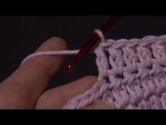 How to Crochet The Alternative Double Crochet Stitch (Alt dc) ::  basically a chain followed by a HDC, easy.  Just something with a bit of a different look from the usual DC.
