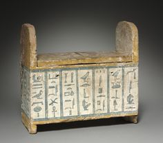 Terracotta shawabty box of Ditamenpaankh. Late Period. 25th dynasty. 715-656 B.C. | Cleveland Museum of Art