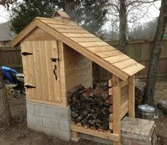 Homemake smoker. http://theownerbuildernetwork.co/easy-diy-projects/diy-outdoor-space-projects/diy-cedar-smokehouse/