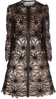 VALENTINO Lace Coat    Beautiful,,, and pricy, but I love it anyway!
