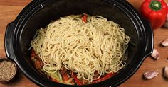 With a slow cooker, you can produce the most delicious noodle meals, with very little preparation and believe me, they are just as good, if not better, than take-out.