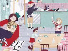 Schweizer Familie Magazine - La Nonette