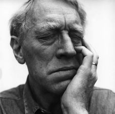 Max Von Sydow by Hans Gedda. Reminds me of my grandfather.