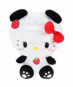 Hello Kitty plush (panda)