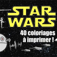 40 dessins de Star Wars à imprimer gratuitement !