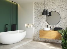 A new bathroom without a renovation / Inspirations and tips Family Bathroom, Modern Bathroom, Small Bathroom, White Bathrooms, Luxury Bathrooms, Minimalist Bathroom, Dream Bathrooms, Restroom Design, Bathroom Interior Design