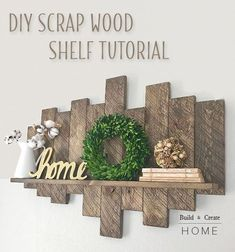 63 Ideas For Scrap Wood Projects Diy Life Diy Furniture Plans Wood Projects, Small Wood Projects, Scrap Wood Projects, Easy Woodworking Projects, Woodworking Furniture, Woodworking Tools, Youtube Woodworking, Woodworking Equipment, Woodworking Techniques