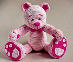 pink marmalade teddy