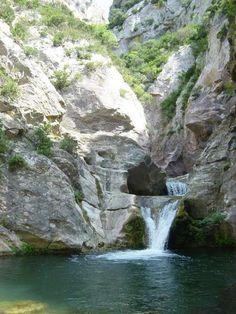 Gorges de Termes, Aude, France.