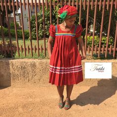 by Fatiki designs Pedi Traditional Attire, Sepedi Traditional Dresses, South African Traditional Dresses, Traditional Wedding Attire, African Traditional Wedding, African Attire, African Wear, African Dress, African Fashion Ankara