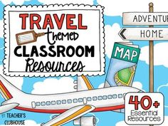 This Travel Theme resource pack was completely updated in April 2016.  It is an ALL NEW resource with everything you need for a Travel Themed classroom!This Travel theme pack includes everything you need to turn your classroom into a fun, engaging learning environment!