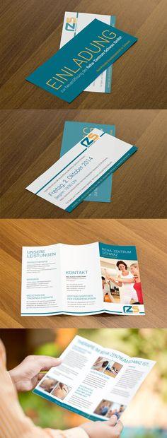 Direct Mailing & Folder für das Reha-Zentrum Schwaz http://www.reha-schwaz.at