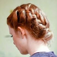 Katniss Raid Hairstyle