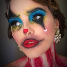 Vintage Circus by emileep. Upload your Halloween selfie on Sephora's Beauty Board for a chance to be featured!