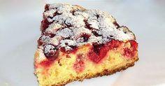 Prăjitura vieneză cu vișine este un desert delicios cu pandișpan pufos și…
