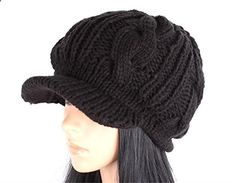 Crazy Shopping autumn winter fashion warmer peak cap cricket cap warm knitted caps ears hats Women. Read more description on the website.