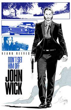 John Wick by Dan Mora