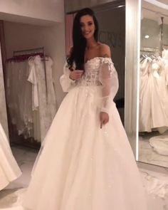 "938d1c342ba9 Sposa Moda Luxury Bridal on Instagram  ""Το απόλυτα παραμυθένιο νυφικό"
