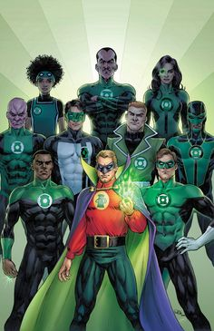 """In brightest day, in blackest night, No evil shall escape my sight. Let those who worship evil's might, Beware my power, Green Lantern's light."" Since the first Green Lantern was introduced in All-American […] Marvel Dc Comics, Dc Comics Art, Comics Girls, Original Green Lantern, Comic Books Art, Comic Art, Comic Book Heroes, Green Lantern Corps, Green Lanterns"