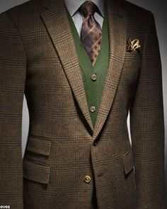 Tweed Wonders! #knits #fashion #mensfashion