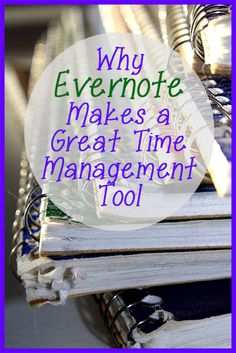 Today, as part of Time Management Tool Review Thursdays, I'm going to review the basics of Evernote and why I think you SHOULD be using it. If you've even come close to checking out time management solutions, you've probably been introduced to this tool.