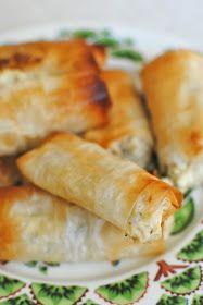 filodegsrullar, fetaost, meze, libanesiskt, buffé, middag, bjudning, recept, bloog, mat, bak, helg