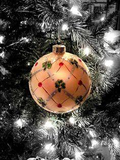 .PoP! Peach Christmas Ornament...