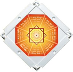 To get better results in PyraVastu, the new Booster plate is enriched with a special ' Vastu Yantram'.