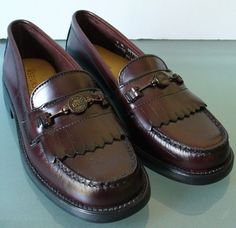 Vintage Oxblood GH Bass & Co Weejuns Loafers by TheOldBagOnline, $46.99