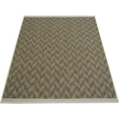 Buy Fairmont Flatwave Herring Rug 80x150cm - Green at Argos.co.uk - Your Online Shop for Rugs and mats.