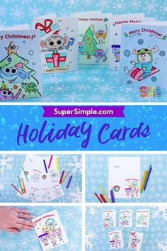 Print and color for a super sweet Holiday treat!