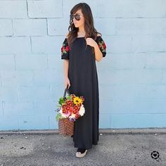 Living in maxi dresses lately and this sleeve detail is making me want to buy flowers!! 🌹this dress is under $19 and comes in 3 colors! Hope you all had a beautiful weekend! ❤️ shop this dress in my IG story or with this link http://liketk.it/2sFKv , you can also screenshot with @liketoknow.it #liketkit #LTKunder100 #LTKunder50 #LTKsalealert #LTKbump #amazonfashion #flowers #maxidress