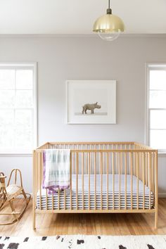 Introducing Baby Rhino in a Soothing California Nursery.