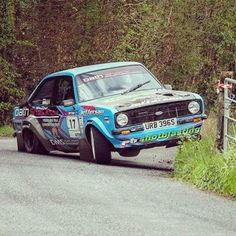 Classic Race Cars, Ford Classic Cars, Ford Rs, Car Ford, Sports Car Racing, Sport Cars, Rally Raid, Ford Escort, Car And Driver